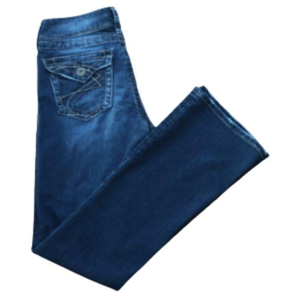 Silver jeans size 28 suki surplus bootcut 28x34